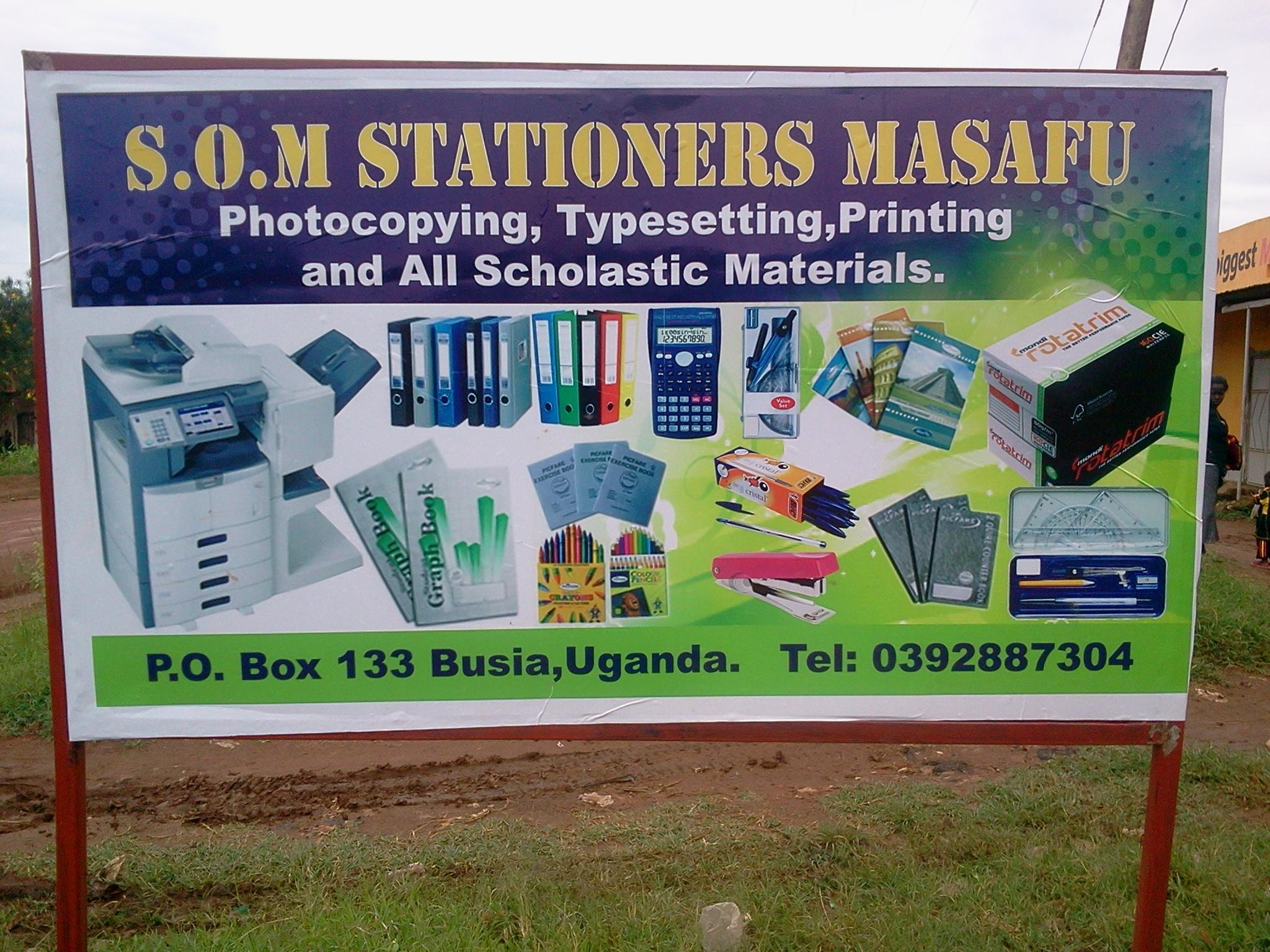 SOM Stationers now open!